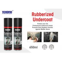 China Rubberized Undercoat , Car Care Spray For Resisting Chipping / Abrasion / Corrosion wholesale