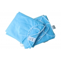 China EO Sterilization Apron Style Exam Disposable Dressing Gowns wholesale