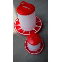 9kg high quality chicken feeders and drinkers poultry feeders with lid