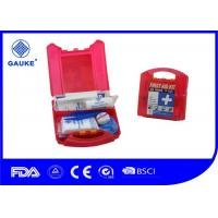 China Waterproof Red OSHA ANSI First Aid Kit For Commercial Kitchens OEM Avaliable wholesale
