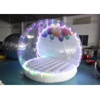 China Human Size Hotel Inflatable Snow Globe Tent Christmas LED Lighting wholesale