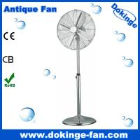 China Pass Finger Testing China Factory 12 inch Antique Metal Fan on sale