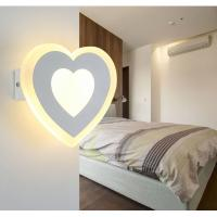 China Matt white Acrylic LED wall lights /inside led wall lamps for hotel rooms wholesale