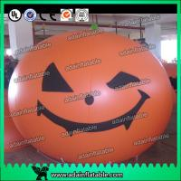China Halloween Party Inflatable Pumpkin Decoration Helium Ball wholesale