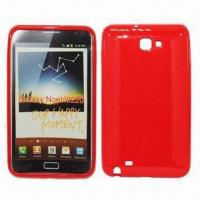 China TPU Cover for Samsung Galaxy Note (i9220), Customized Logos are Welcome, Various Colors Available wholesale