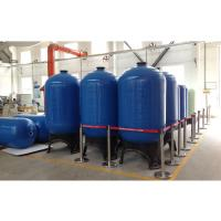 China Top open 2.5 NPSM FRP Pressure Tanks for reverse osmosis water treatment on sale