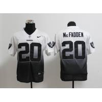 China NFL Oakland Raiders 20 McFadden Drift Fashion II white black jersey wholesale