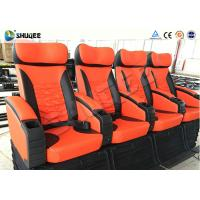 China Special Control System 4D Digital Movie Theater System With Motion Chairs wholesale