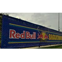 China SGS Promotional Mesh Vinyl Banner Great For Windy Outdoor Locations wholesale