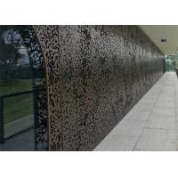 China 8mm Laser Cutting Metal Screen Facade For Architectural Screens Wall Panels wholesale