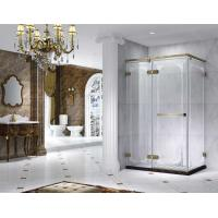 Buy cheap Semi Frameless Rectangle Shower Enclosure With Pivot Door, AB 6231-2 from wholesalers