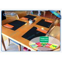 China AZO FREE Panton Matched Non Woven Round Tablecloth For Dining Table wholesale