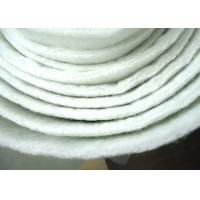 China Non Woven Micron Filter Cloth Polyester Filter Media Anti Acid ISO wholesale