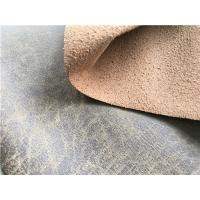 China Pepper Bonded Leather Material For Car Seats , Recycled Leather Fabric wholesale
