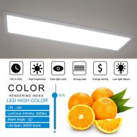 Quality 1ft x 4ft 40 W Flat LED Panel Light  Commercial Led Lighting 5000lm UL & DLC Listed for sale