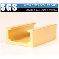 China Durable Build Decorative Copper Material Profiles Section In Brass wholesale