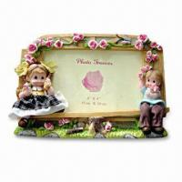 China Resin Frame, Resin Photo Frame, for Promotion, Gift and Souvenir Purposes on sale