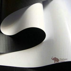 China Soft White / Black 0.40mm Woven Polypropylene Roll Layer Matte Surface wholesale