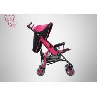 China Shiny Color Baby Umbrella Stroller Adjustable Backrest For 6 Months Above wholesale