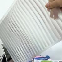 China PET 51X71CM 75LPI 0.45mm Lenticular Sheet with super transpancy for making Lenticular 3D Cards by UV printer in Spain wholesale