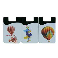 China 3M Sticker Silicone Credit Card Holder Made Of Non Toxic Top Grade Materials wholesale