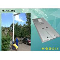 Quality 80Watt Smart Phone APP Control LED Smart Solar Street Light With PIR For Bus for sale