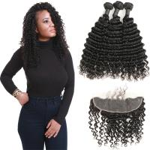 China Romance Curl Virgin Brazilian Hair Extensions / 100 Brazilian Human Hair Weave wholesale