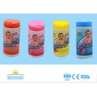China Wet Tissue Antibacterial Hand Sanitizer Wipes Newborn Baby Wipes With Pop Top Container wholesale