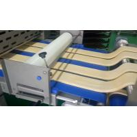 China Customizable Make - up Dough Laminator Machine With Heatable Cutter , Pastry Maker Machine wholesale