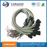 China Screw LED Injector Wiring Harness 180 Degrees TVR 1.25 - 5 Ring Solder Terminal Connectors wholesale
