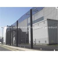 China Powder Coated Anti Climb Security Fencing , Galvanized Wire 358 Mesh Fence on sale