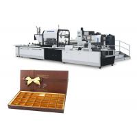 China 380 V 50 HZ Paper Box Forming Machine , Cardboard Box Making Equipment on sale