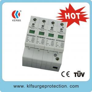 China 380V 40KA Three phase surge protectors on sale