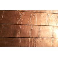 China Foil Covering Copper Roofing Shingle , Fish-scale Roofing Shingles wholesale