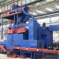 China Automatic Cleaning Steel Pipe Shot Blasting Machine With Eliminate Inner Stress on sale
