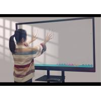 China Interactive Touchscreen Whiteboard Display , Classroom Touch Screen Black Aluminum Frame wholesale