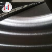 China 430 satin NO.4 brushed finish stainless steel plate coil with PVC film on sale