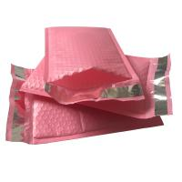 China 9x12 Hot Pink Self Seal Poly Bubble Mailers Wrap Padded Plastic Courier Bag wholesale