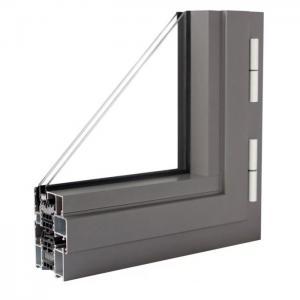 China T4 T6 Thermal Break Aluminum Profile , T5 Aluminium Hollow Profile wholesale