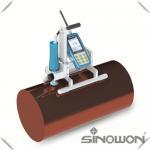 China Roller Ultrasonic Hardness Tester , 3N Motorized Probe Portable Hardness Testing Equipment wholesale