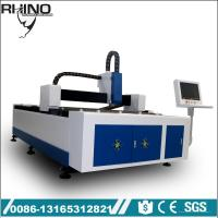 China Industrial Fiber Metal Laser Cutting Machine With 750W Raycus Laser Generator wholesale
