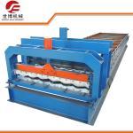 China Half Round Glazed Tile Making Machine SB 23 - 165 - 1100 For Roof Making wholesale