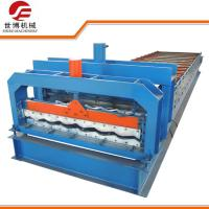 Half Round Glazed Tile Making Machine SB 23 - 165 - 1100 For Roof Making