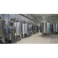 China Plastic Bottle Package Yogurt Production Line With Raw Milk Testing 1000 L/H on sale