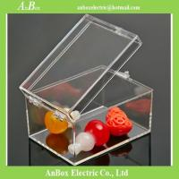 Buy cheap Polycarbonate Rectangular Clear Plastic Enclosure Box from wholesalers