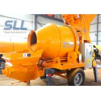 China Professional Towable Concrete Pump / Portable Concrete Pump Flexible Moving Type wholesale
