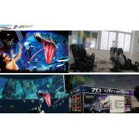 China 6 / 12 / 18 / 36 Persons 6D Movie Theater With Visual Impact, Special Effect System wholesale