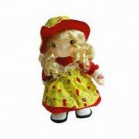 China Doll with Popular Walking and Singing Cloth Functions wholesale
