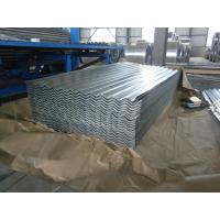 China 0.15-1.5mm Thickness Galvanized Corrugated Roofing Sheet , ASTM A653 wholesale