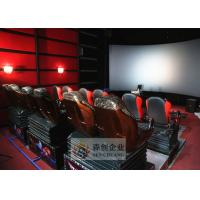 China Motion 4D Movie Theatre with Motion 6 DOF System 4D Cinema Chair wholesale
